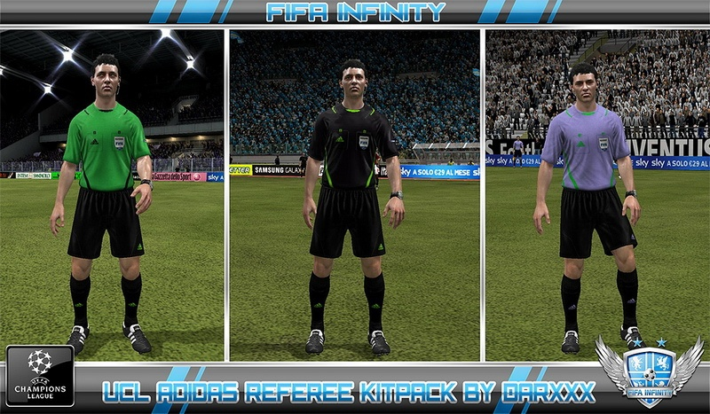Патч для FIFA 12, который добавит судьям комплекты форм, которые используют
