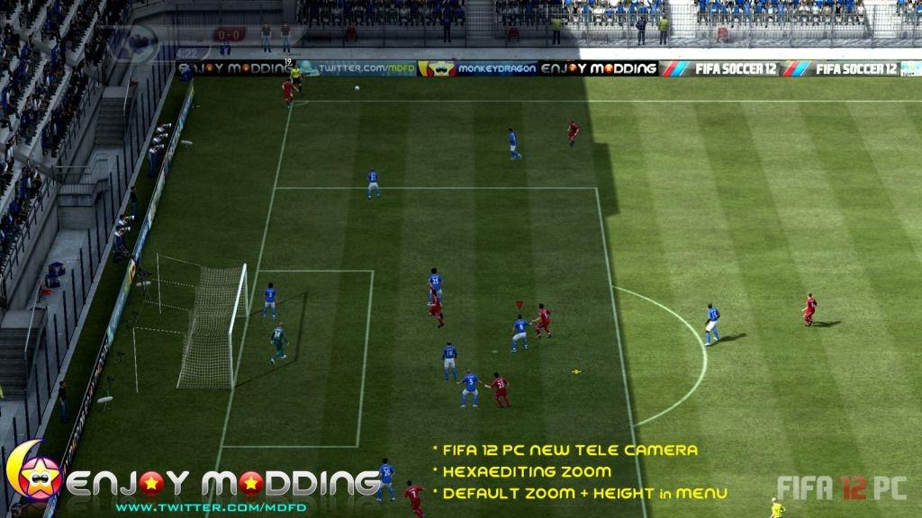 Этот патч улучшает работу камер в FIFA 12. . Работает с такими режимами ка