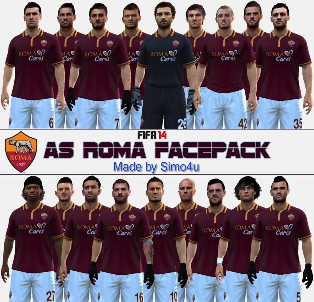 Fifa 14 Hungary Home: Fifa 14 AS Roma Arc Csomag Letöltés